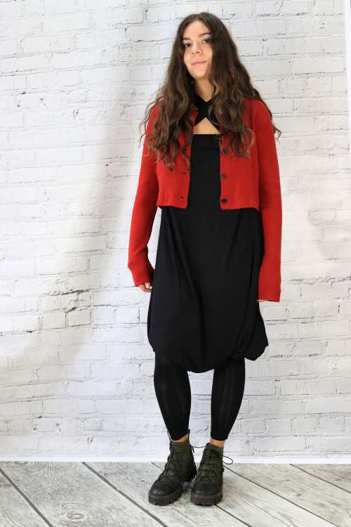 Lemuria Cow Overall LM175326 ,Rundholz Black Label Cardigan RH175080 ,Rundholz Black Label Shoes RH175209