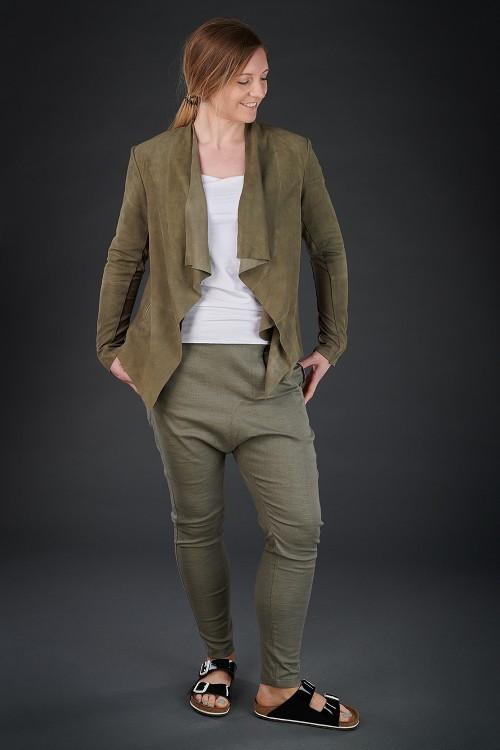 Nor Molly Suede Jacket NR190109 ,Nor Camile Trousers NR190106 ,Rundholz Black Label Vest Top RH180290