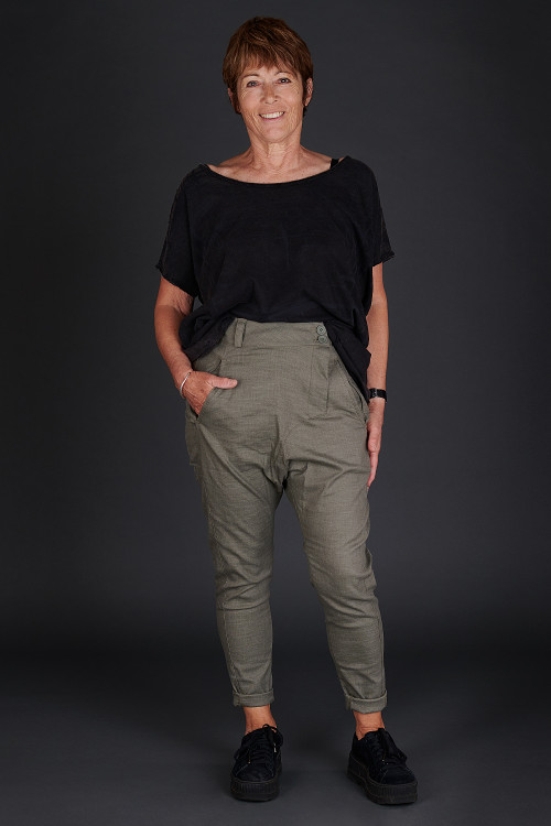 Black By K&M Brave Top BK190056, Nor Camile Trousers NR190106