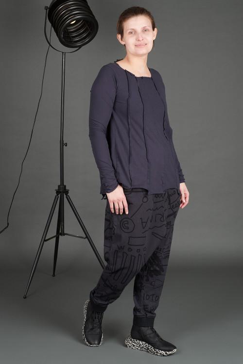 Rundholz Black Label T-shirt RH195137 ,Rundholz Black Label Trousers RH195042 ,Lofina Leopard Printed Boots LF195268