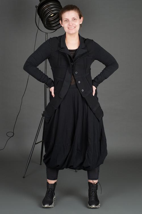 Rundholz Black Label Jacket RH195082, Rundholz Black Label Skirt RH195086, Rundholz Black Label T-shirt RH195060, Lofina Leopard Printed Boots LF195268