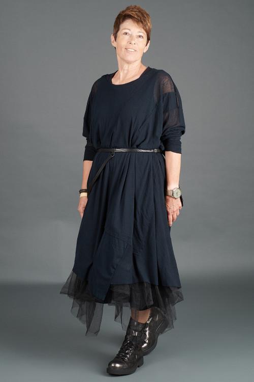 Rundholz Black Label Dress RH195059 ,Rundholz Black Label Dress RH195102 ,Rundholz Leather Belt RH195015 ,Lurdes Bergada Leather Boots LB195182
