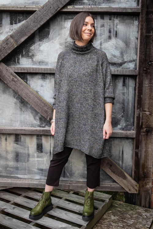 Rundholz Black Label Knitted Tunic RH195054 ,Rundholz Black Label Trousers RH195096 ,Lofina Platform Boot LF195269