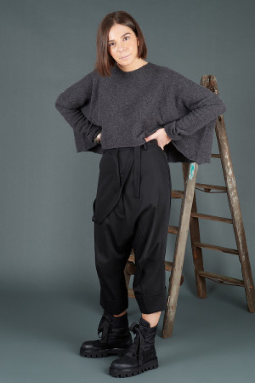 Rundholz Cashmere Pullover RH195007 ,Rundholz Trousers RH195002 ,Rundholz Black Label Boots RH195161