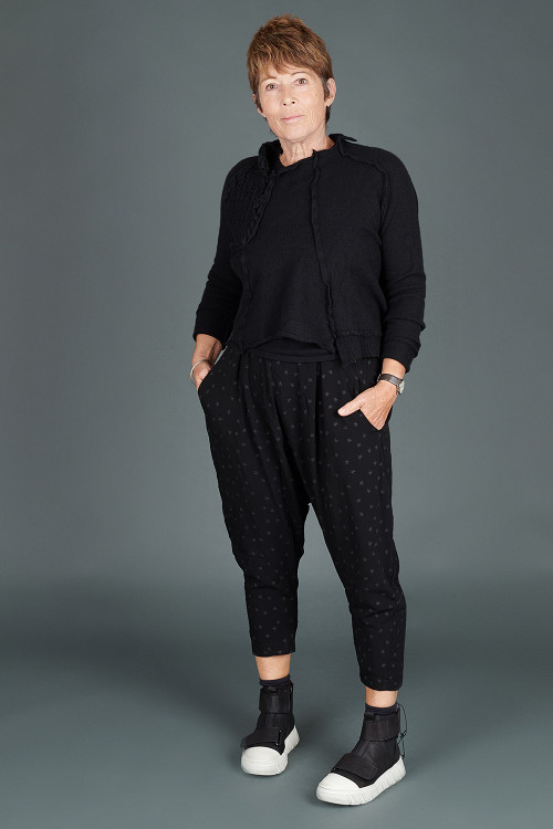 Mamab Flu Trousers MB195241, Rundholz Cashmere Pullover RH195009, Lofina Trainer Boots LF195272