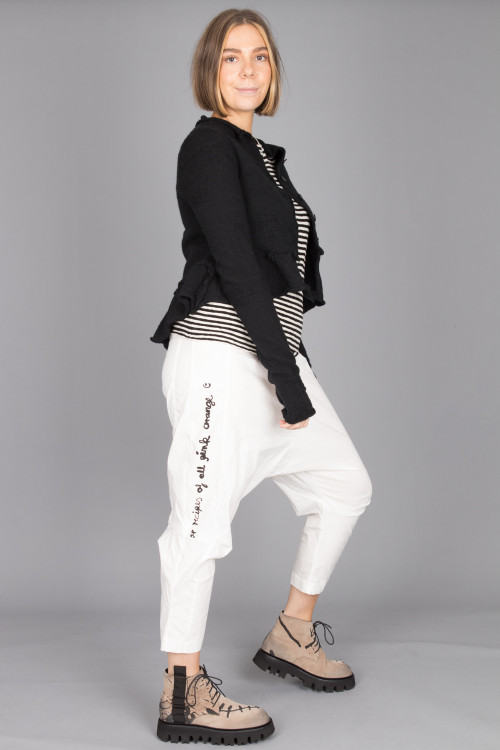 By Basics Vest BB100045 ,Rundholz Black Label Cardigan RH215292 ,Rundholz Black Label Trousers RH210147 ,Rundholz Black Label Shoes RH215293