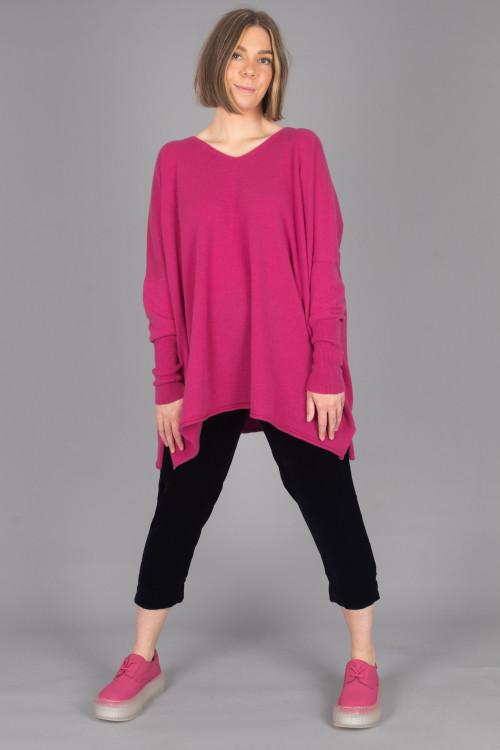 Capra Studio Ruby Pullover CS105063 ,Cut Loose Velvet Cropped Trouser CL105021 ,Rundholz Shoes RH215182