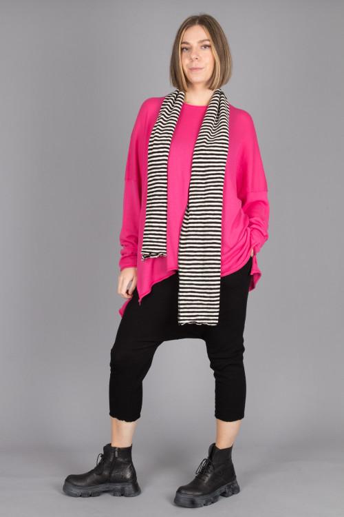 Capra Studio Cara Cotton Pullover CS100065 ,By Basics Harem Pants BB100046 ,By Basics Scarf BB100042 ,Lofina Crackled Black Boots LF210024