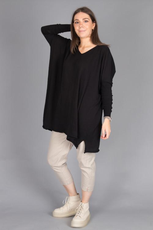 Capra Studio Lucy Cotton Pullover CS100087 ,Cut Loose Cropped Trouser CL105012 ,Rundholz Shoes RH210070