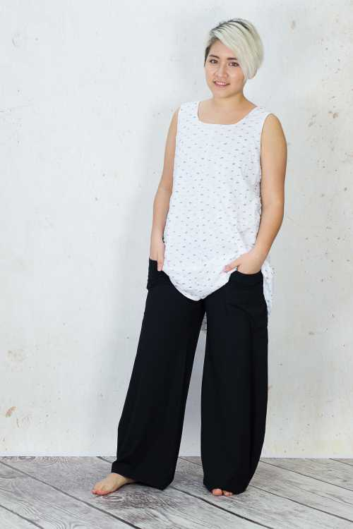 Gix Sleeveless Top GX170093 ,Gix Wide Leg Trousers GX170090