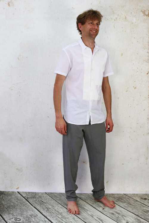 Syngman Cucala Trousers SC170065 ,Syngman Cucala Printed Shirt SC170068