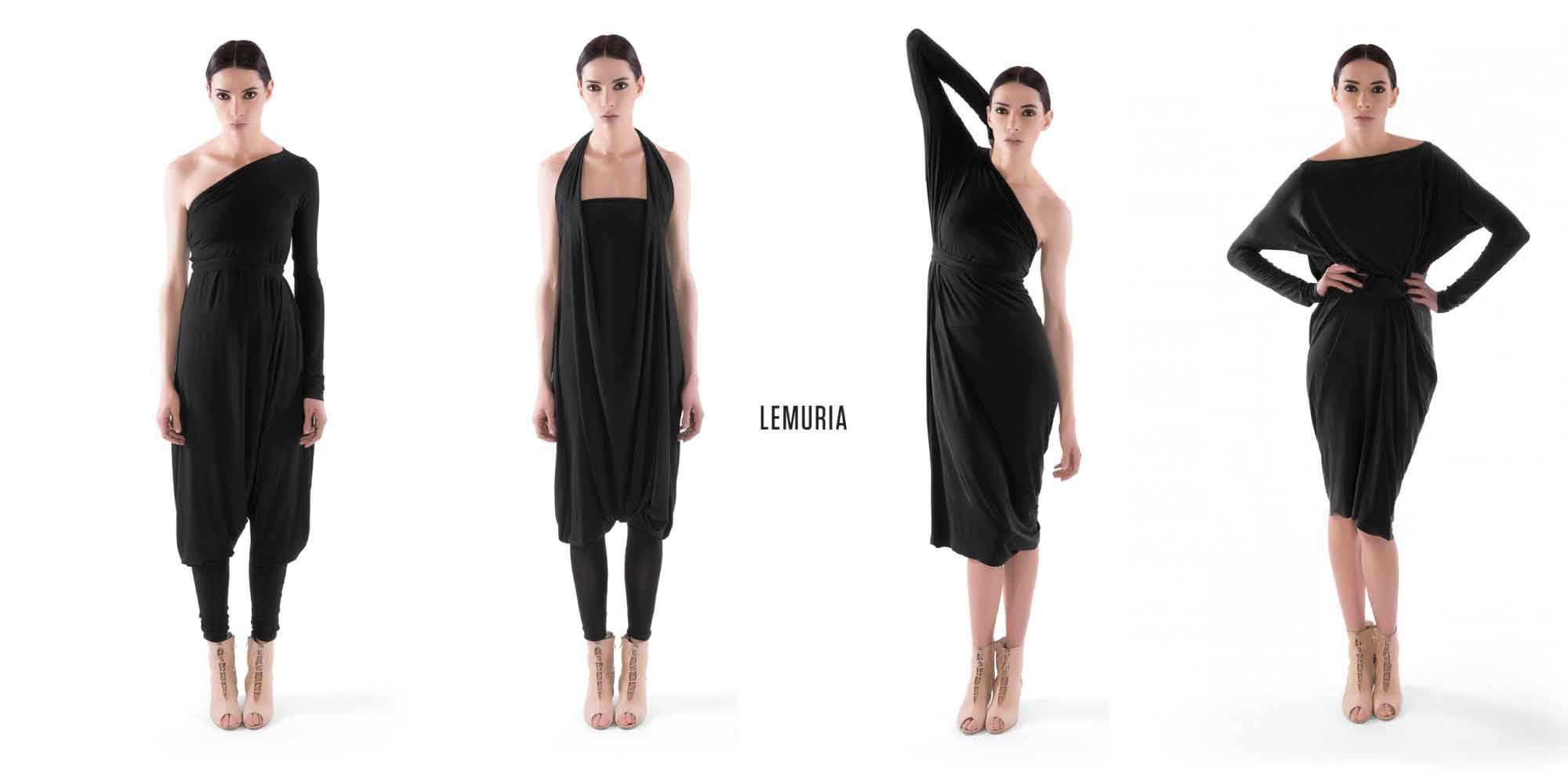 Lemuria @ Walkers.Style online women's fashion and clothing shop - Lemuria is crafted in Italy, the fabric quality is beautiful and the finish is excellent too.