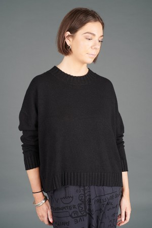 YL100005 - Yellow Label Black Pullover @ Walkers.Style buy women's clothes online or at our Norwich shop.