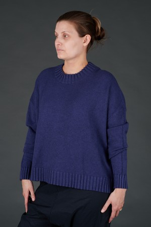 YL100006 - Yellow Label Blue Mid Length Pullover @ Walkers.Style buy women's clothes online or at our Norwich shop.