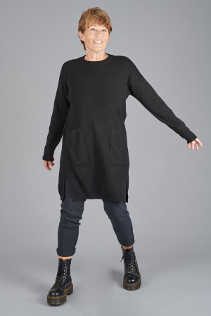 YL100011 - Yellow Label Tunic Knit @ Walkers.Style buy women's clothes online or at our Norwich shop.