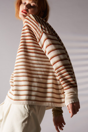 ll100034 - Lilith Anouk - Striped Sweater @ Walkers.Style buy women's clothes online or at our Norwich shop.