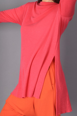 bb100059 - By Basics Long  Tunic Top @ Walkers.Style women's and ladies fashion clothing online shop