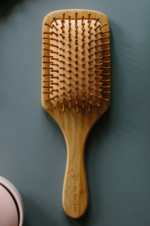 bb100063 - By Basics Grums Bamboo Hairbrush @ Walkers.Style buy women's clothes online or at our Norwich shop.