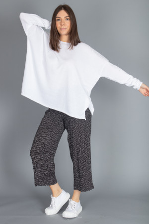 cs100064 - Capra Studio Cara Cotton Pullover @ Walkers.Style buy women's clothes online or at our Norwich shop.