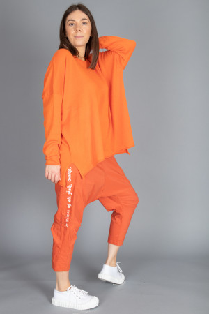 cs100065 - Capra Studio Cara Cotton Pullover @ Walkers.Style buy women's clothes online or at our Norwich shop.