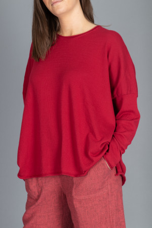 cs100065 - Capra Studio Cara Cotton Pullover @ Walkers.Style women's and ladies fashion clothing online shop