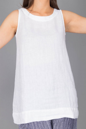 bb100076 - By Basics Linen Tunic @ Walkers.Style women's and ladies fashion clothing online shop