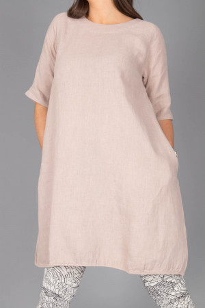 bb100077 - By Basics Linen Dress @ Walkers.Style women's and ladies fashion clothing online shop