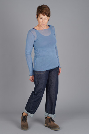cl105018 - Cut Loose Mesh Top @ Walkers.Style buy women's clothes online or at our Norwich shop.