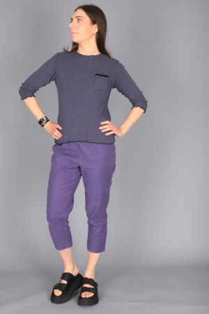 cl105022 - Cut Loose Thermal Boyfriend Top @ Walkers.Style buy women's clothes online or at our Norwich shop.