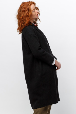 ll105032 - Lilith Clark Plain Coat - Pre Order - Delivery end of January 2021 @ Walkers.Style buy women's clothes online or at our Norwich shop.