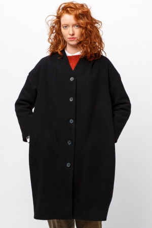 ll105032 - Lilith Clark Plain Coat - Pre Order - Delivery end of January 2021 @ Walkers.Style women's and ladies fashion clothing online shop