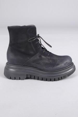 lf105045 - Lofina Suede Lace Boots @ Walkers.Style women's and ladies fashion clothing online shop