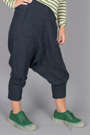 bb105060 - By Basics Linen Harem Pants @ Walkers.Style women's and ladies fashion clothing online shop