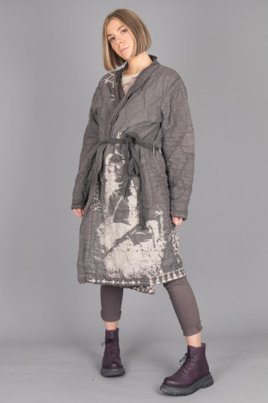 mp105076 - Magnolia Pearl Native Art Quilted Coat @ Walkers.Style buy women's clothes online or at our Norwich shop.