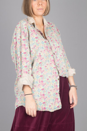 mp105078 - Magnolia Pearl Boyfriend Shirt @ Walkers.Style women's and ladies fashion clothing online shop