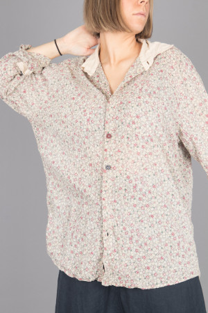 mp105079 - Magnolia Pearl Boyfriend Shirt @ Walkers.Style women's and ladies fashion clothing online shop