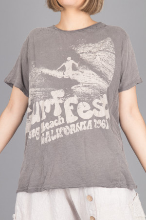 mp105082 - Magnolia Pearl Surf Fest T-Shirt @ Walkers.Style women's and ladies fashion clothing online shop