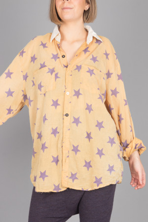 mp105088 - Magnolia Pearl Boyfriend Shirt @ Walkers.Style women's and ladies fashion clothing online shop