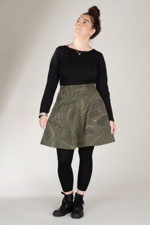lb185039 - Lurdes Bergada Skirt @ Walkers.Style women's and ladies fashion clothing online shop