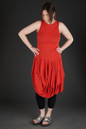 lb190025 - Lurdes Bergada Fitted Jersey Dress @ Walkers.Style women's and ladies fashion clothing online shop