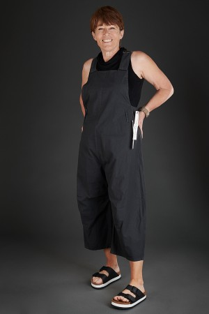 lb190045 - Lurdes Bergada Coated Resin Overalls @ Walkers.Style women's and ladies fashion clothing online shop