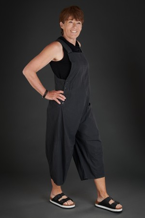 lb190045 - Lurdes Bergada Coated Resin Overalls @ Walkers.Style buy women's clothes online or at our Norwich shop.