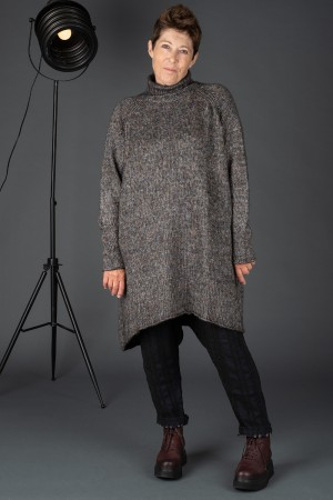 rh195054 - Rundholz Black Label Knitted Tunic @ Walkers.Style women's and ladies fashion clothing online shop