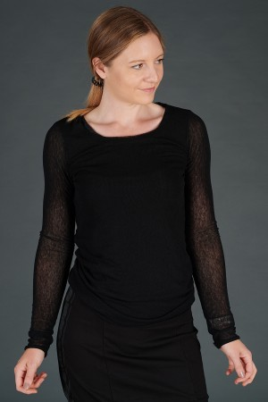 rh195060 - Rundholz Black Label T-shirt @ Walkers.Style women's and ladies fashion clothing online shop