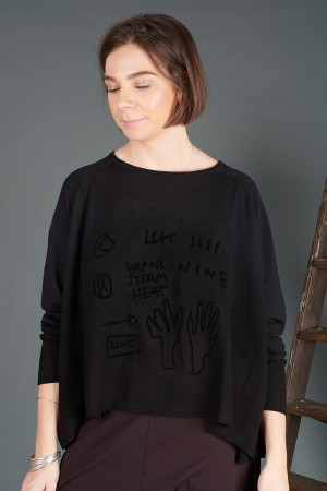 rh195063 - Rundholz Black Label Pullover @ Walkers.Style women's and ladies fashion clothing online shop