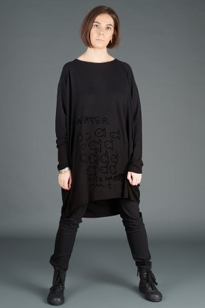 rh195064 - Rundholz Black Label Knitted Tunic @ Walkers.Style women's and ladies fashion clothing online shop