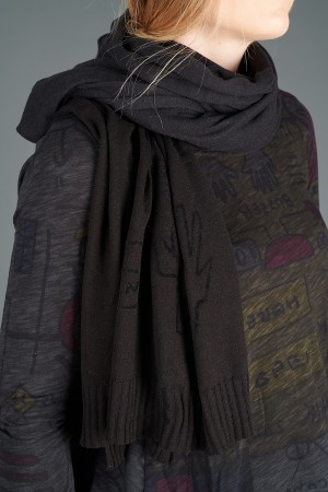 rh195065 - Rundholz Black Label Knitted Scarf @ Walkers.Style buy women's clothes online or at our Norwich shop.