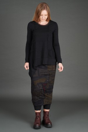 rh195080 - Rundholz Black Label T-shirt @ Walkers.Style women's and ladies fashion clothing online shop