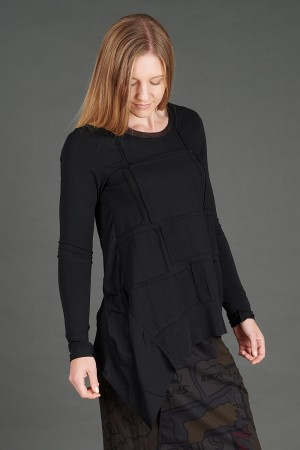rh195080 - Rundholz Black Label T-shirt @ Walkers.Style buy women's clothes online or at our Norwich shop.