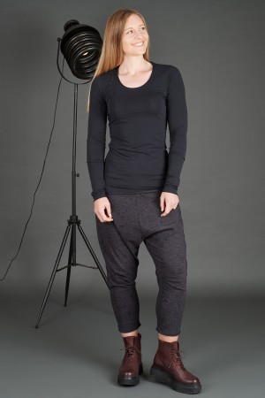 rh195087 - Rundholz Black Label T-shirt @ Walkers.Style women's and ladies fashion clothing online shop